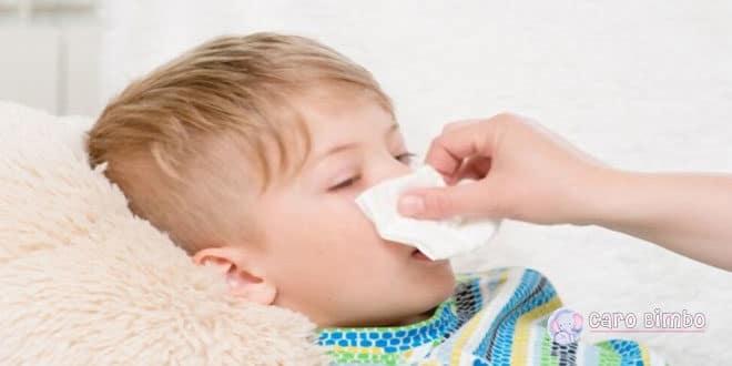 Come alleviare in modo naturale la tosse e il muco del Bambino?