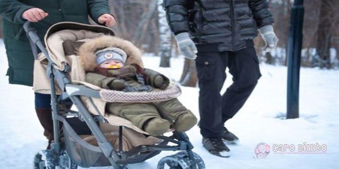Kit di base per camminare comodamente con il bambino in inverno