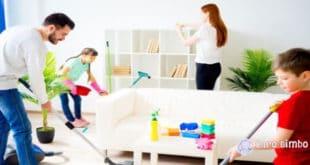 Come fare i lavori di casa con un bambino?
