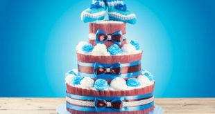 Come fare una torta di pannolini?