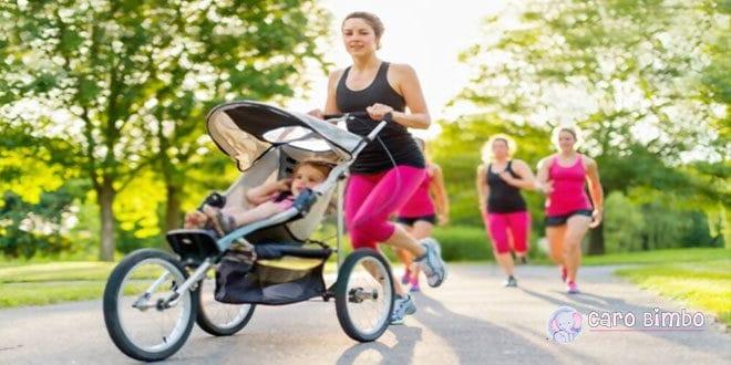 7 consigli per correre con il passeggino