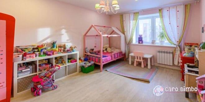 5 consigli per decorare la stanza del vostro bambino per pochi soldi
