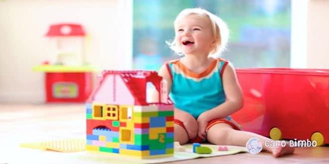 Un gioco per ogni tappe dello sviluppo del bambino
