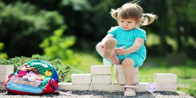 Quando e come iniziare a mettere le scarpe ai bambini?