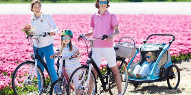 I migliori rimorchi per bici porta bambino