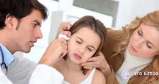 Otite nei bambini: Quali sono i sintomi e il trattamento?