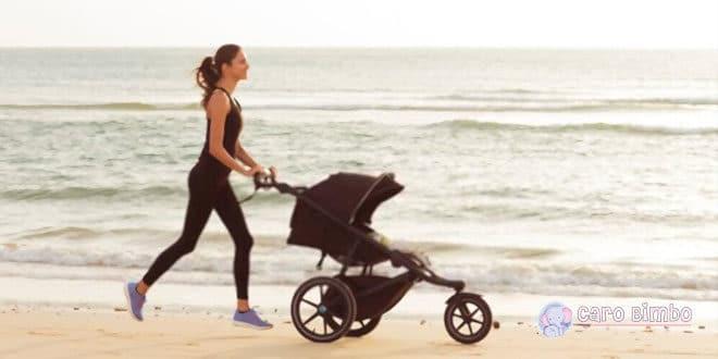 Come dovrebbe essere il passeggino per fare sport con il tuo bambino?