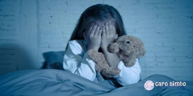 Tutto sulla paura del buio nei bambini