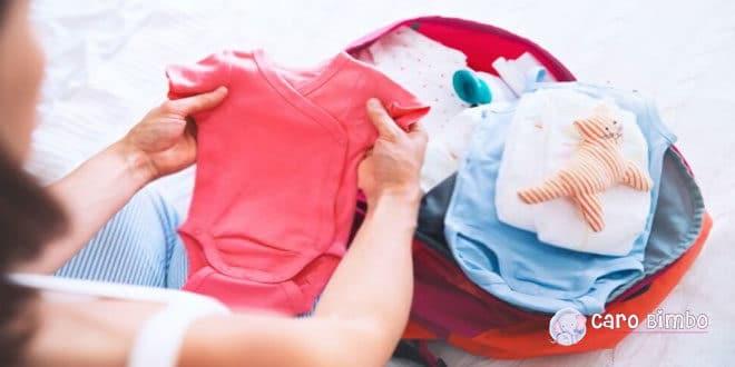 Trucchi per preparare la valigia di tuo figlio senza stress