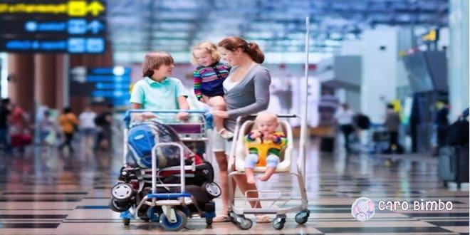 Come viaggiare con i bambini senza che il viaggio si trasformi in un incubo